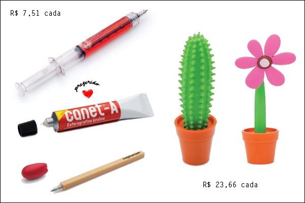 Canetas-Seringa-Bisnaga-Fsforo-Cacto-Flor