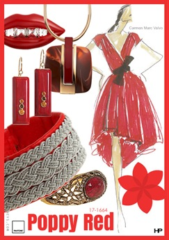 Pantone 2013 Spring Colors in Poppy Red