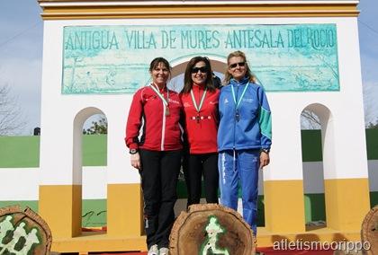 Pepi Alijo Subcampeona de Andalucía de Cross W50