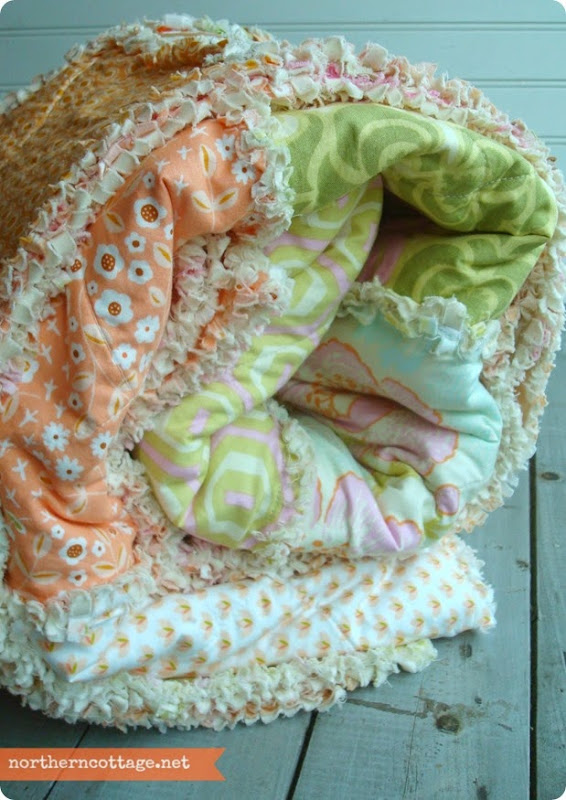 Gorgeous Sweet Quilt by {NorthernCottage}