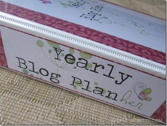 simpleispretty.com: Blog Planner Binder Spine