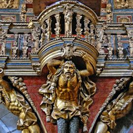 Ig. de S. Gonçalo de Amarante by Antonio Amen - Buildings & Architecture Architectural Detail ( amarante, portugal, ig. de s. gonçalo de amarante )