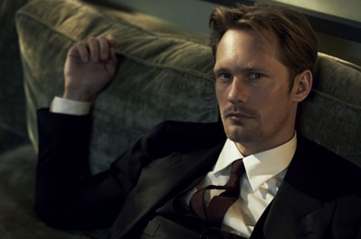 Alexander Skarsgård by Peter Lindbergh, Vogue, July 2011