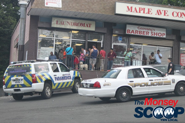 2 Injured & Arrested After Fight On Maple Ave (Moshe Lichtenstein) - IMG_2964.JPG