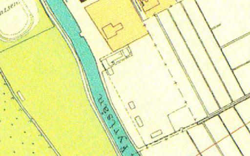 Karta över Tullgarn i Uppsala 1930