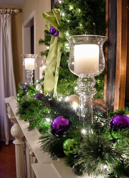 How To Decorate A Mantel Fo How To Decorate For Christmas