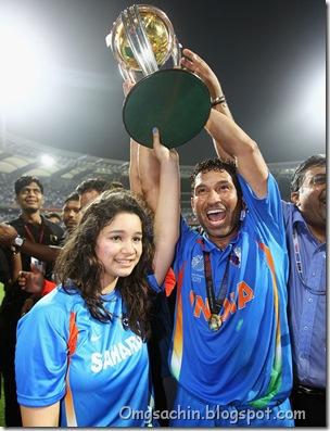 Sachin Tendulkar Sara Tendulkar India v Sri 2ZeiS5nVGocl