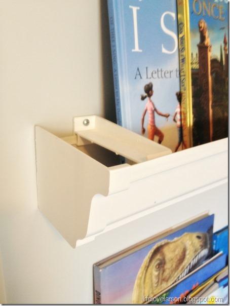 rain gutter bookshelf 2