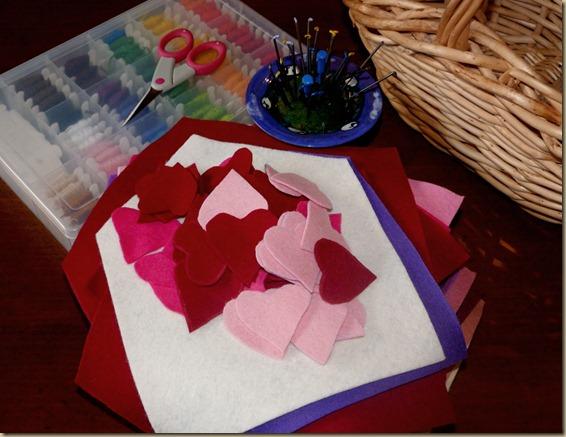 Felt Envelope Valentines 1