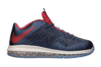 nike lebron 10 low gr usa basketball 4 01 Release Reminder: Nike Air Max LeBron X Low USA Basketball