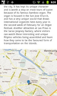 Manila Offline Travel Guide - screenshot