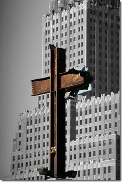 World Trade Center 9-11 cross 5