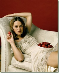 keira and strawberries