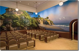 Newport Beach Temple Endowment Room (Source: LDS.org)