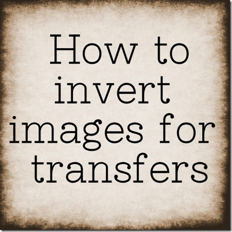 how to invert images in paint