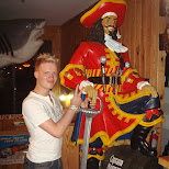 matt and captain morgan in Cocoa Beach, Florida, United States
