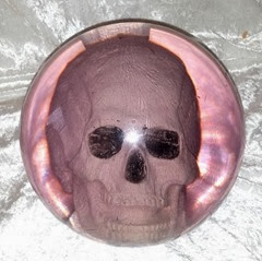 Ebonite Optyx Skull bowling ball