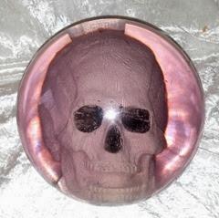 Ebonite Optyx Skull bowling ball
