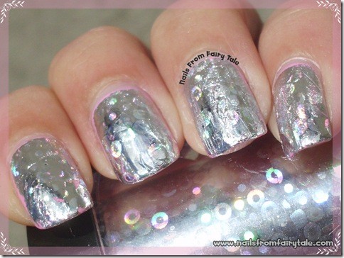 nail foil tutorial final look