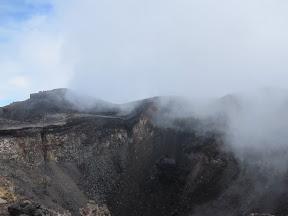 The Mt Fuji Crater