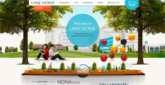 20 ejemplos de sitios web con diseños muy coloridos