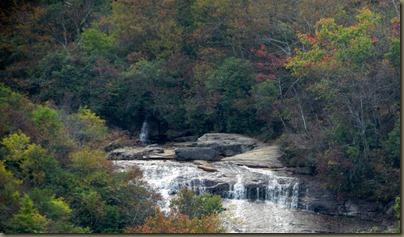 waterfalls  Near Graveyard Fields on Blue Ridge