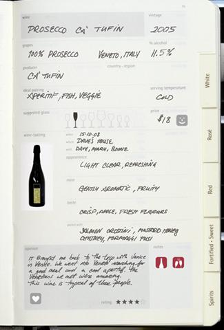 молескин винный дневник
