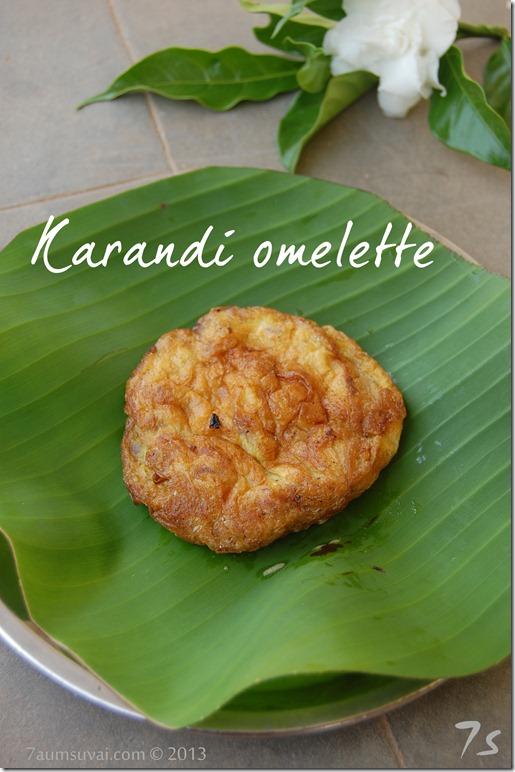 karandi omelette pic1