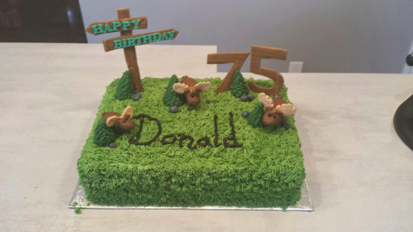 Cats Et Cakes A Moose Cake