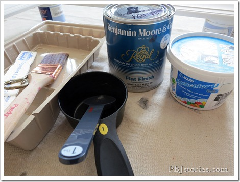 chalk paint materials