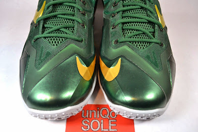 nike lebron 11 pe svsm away 5 04 Nike LeBron 11   SVSM Away   Detailed Look