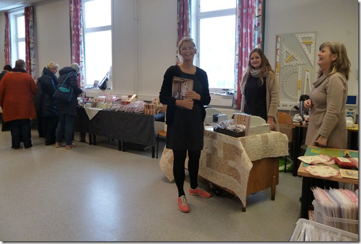 Abyquilt: Workshop in Østerled and my NEW sewingmachine