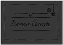 Télécharger la carte bonne année style doodle