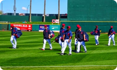 Spring training Cleveland Indians