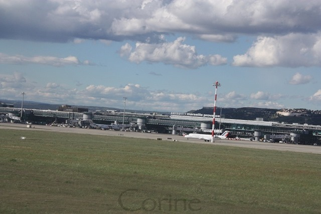 vliegveld Marseille