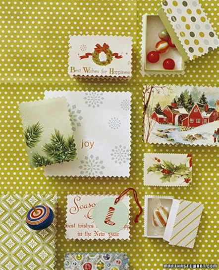 holiday card boxes