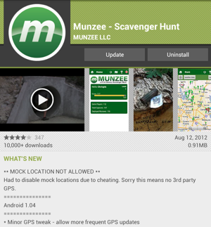 Munzee 1.04 for Android