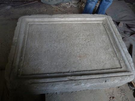 Placa romana: Drobeta municipiu roman