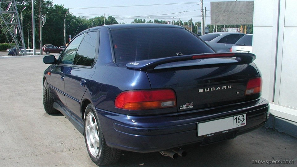 2001 subaru impreza rs specifications pictures prices. Black Bedroom Furniture Sets. Home Design Ideas