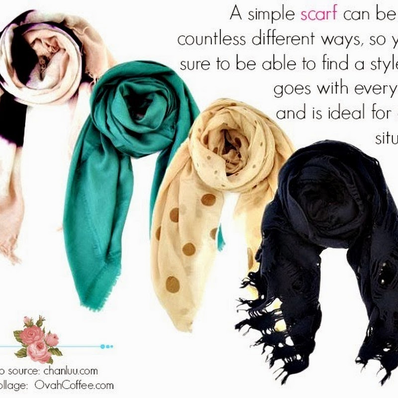 Five Creative Ways To Tie A Scarf