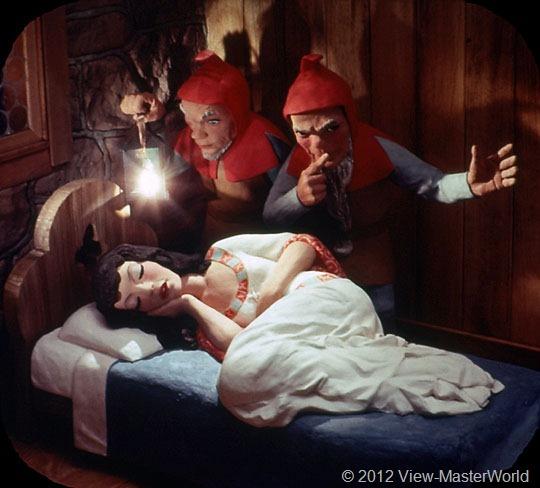 View-Master Snow White and the Seven Dwarfs (B300), Scene 12