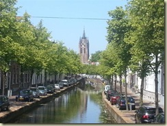 Oude Kerk and Grand Canal (Small)