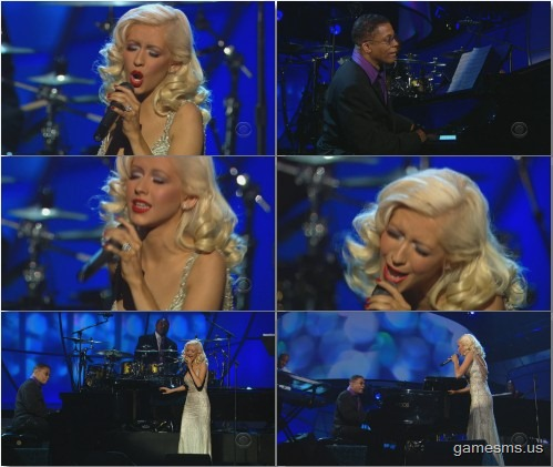 Christina Aguilera & Herbie Hancock - A Song For You (Live 2011)