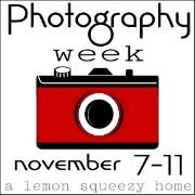Photography Week Button, Red 2