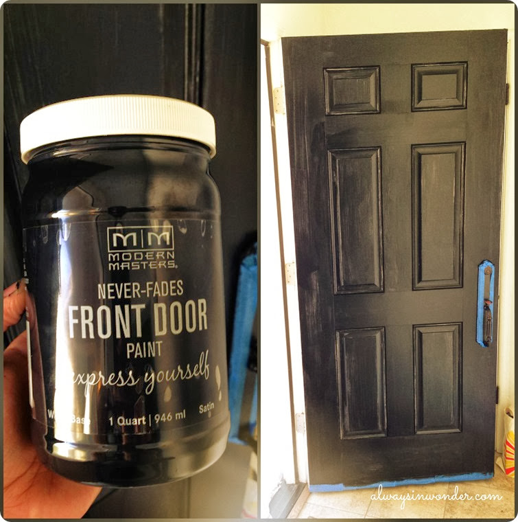 Modern Masters Front Door Paint First Coat