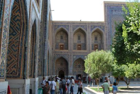 Obiective turistice Uzbekistan: Samarkand - Registan