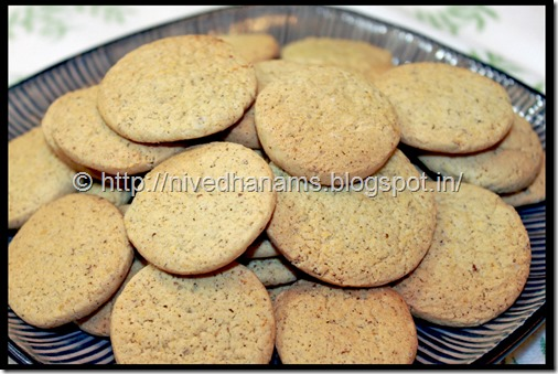 Lemon Clove Cookies -