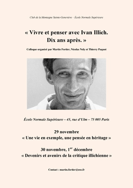 Affiche  Ivan Illich copie