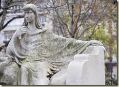 Sculpture de François Sicard, place du Gal Catroux - Crédit photo: Sacha Lenormand