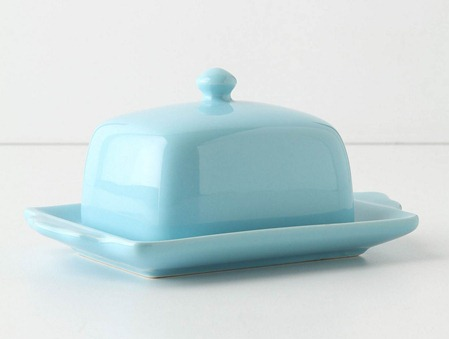 tea and toast butter dish
